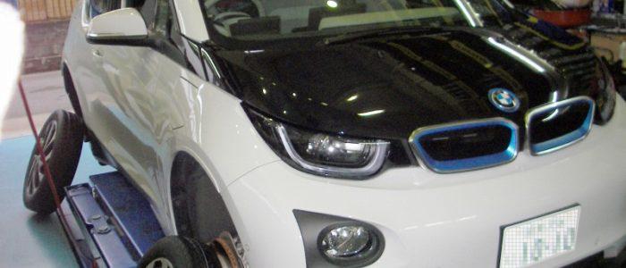 BMW i3 タイヤ交換