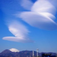 富士山の笠雲