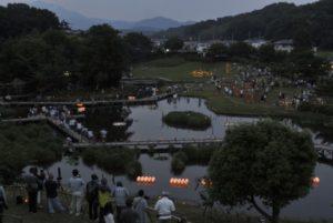 竹灯篭の夕べ 2018年5月27日
